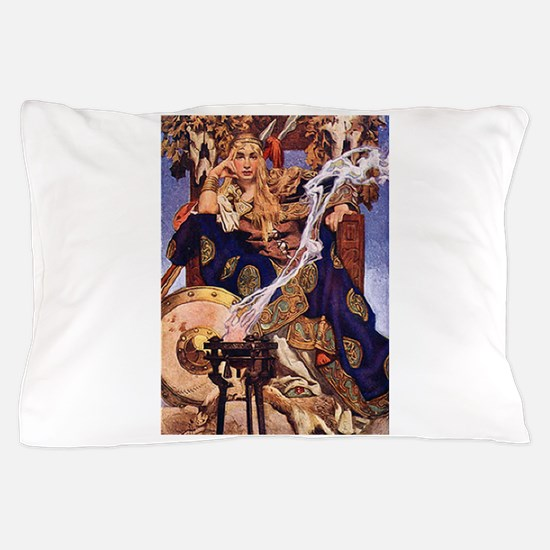 Celtic Queen Maev by Leyendecker Pillow Case