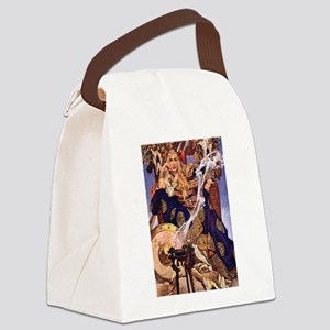 Celtic Queen Maev by Leyendecker Canvas Lunch Bag