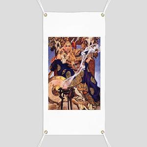 Celtic Queen Maev by Leyendecker Banner