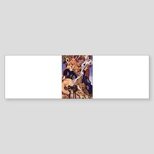 Celtic Queen Maev by Leyendecker Sticker (Bumper)