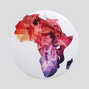 The 44th - African Union Round Ornament