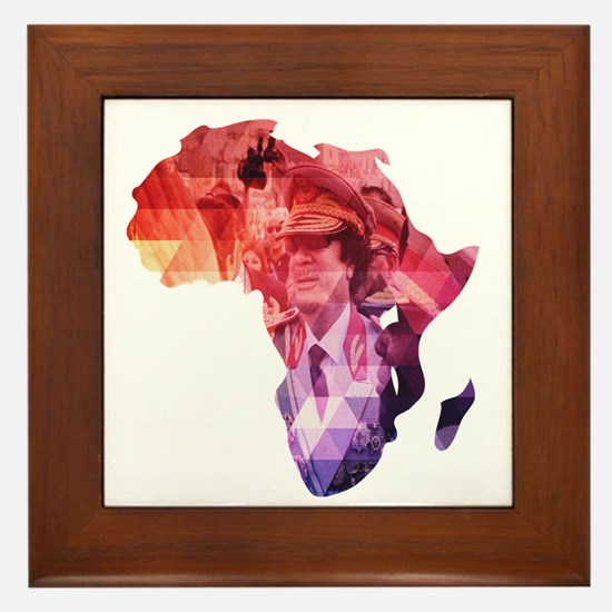 The 44th - African Union Framed Tile