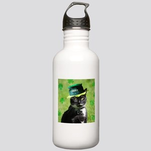 St. Patrick kitty Water Bottle