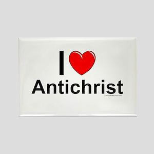 Antichrist Rectangle Magnet