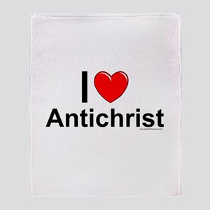 Antichrist Throw Blanket