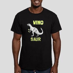 Winosaur Men's Fitted T-Shirt (dark)