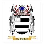 Manescalchi Square Car Magnet 3