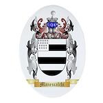Manescalchi Oval Ornament