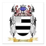 Manescal Square Car Magnet 3