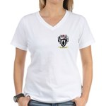 Mandly Women's V-Neck T-Shirt