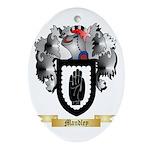 Mandley Oval Ornament