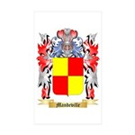 Mandeville Sticker (Rectangle 50 pk)