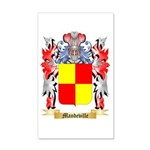 Mandeville 20x12 Wall Decal