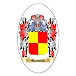 Mandevile Sticker (Oval)