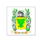 Mandel Square Sticker 3