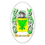 Mandel Sticker (Oval 50 pk)