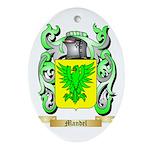 Mandel Oval Ornament