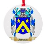 Manahan Round Ornament