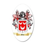 Man 35x21 Oval Wall Decal
