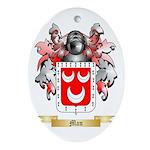 Man Oval Ornament