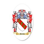 Maltby Oval Car Magnet