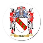 Maltby Round Car Magnet