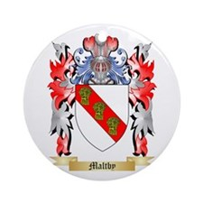 Maltby Round Ornament