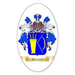 Maloney Sticker (Oval 50 pk)