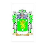 Malone Sticker (Rectangle 50 pk)