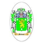 Malone Sticker (Oval 10 pk)