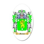 Malone 20x12 Oval Wall Decal