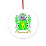 Malone Round Ornament