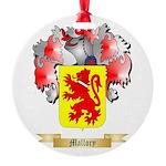 Mallory Round Ornament