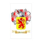 Mallory Sticker (Rectangle 50 pk)