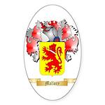 Mallory Sticker (Oval 10 pk)