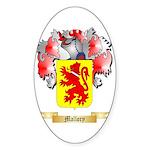 Mallory Sticker (Oval 50 pk)