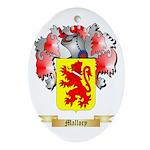 Mallory Oval Ornament