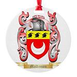 Mallinson Round Ornament