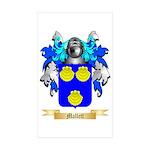 Mallett Sticker (Rectangle 50 pk)