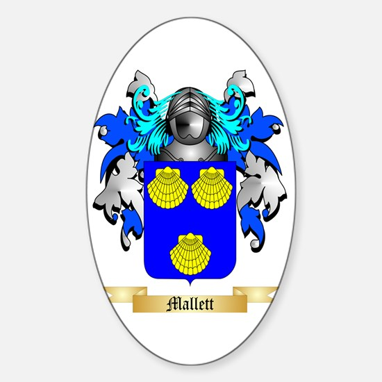 Mallett Sticker (Oval)
