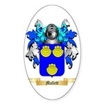Mallett Sticker (Oval 50 pk)