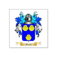 Mallet Square Sticker 3