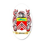 Mallam Oval Car Magnet