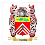 Mallam Square Car Magnet 3