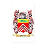 Mallam Sticker (Rectangle 10 pk)