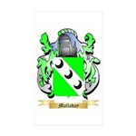 Malladay Sticker (Rectangle 10 pk)