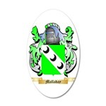 Malladay 35x21 Oval Wall Decal