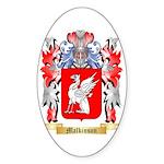 Malkinson Sticker (Oval 50 pk)