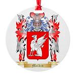 Malkin Round Ornament