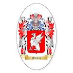Malkin Sticker (Oval)
